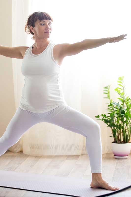 Donna sport gravidanza
